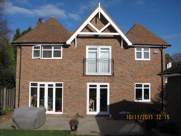 2 Floor rear extension, Chestnut Avenue, Tunbridge Wells, Kent - Lesters Builders
