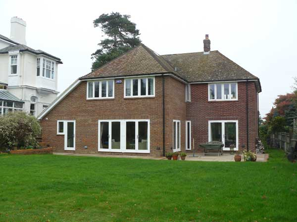 Front Elevation Extension : Storey extension and garage tunbridge wells kent