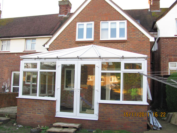 2 Storey Rear Extension and Conservatory in Horsmonden, Kent  - Lesters Builders