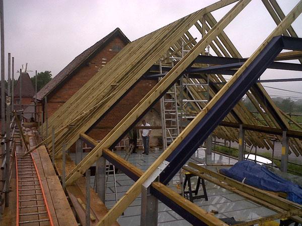 loft conversion ideas kent - 2 Storey fice Building Yalding Kent Lesters Builders