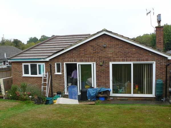 Bungalow Extension Tunbridge Wells Kent Lesters Builders