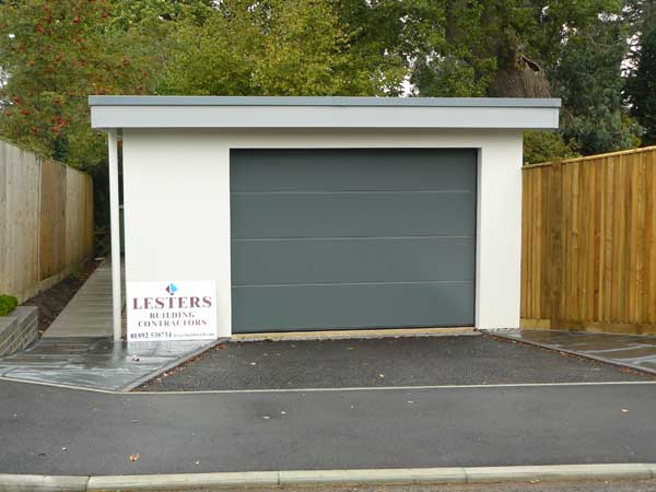 Detached Garage, Tunbridge Wells, Kent - Lesters Builders
