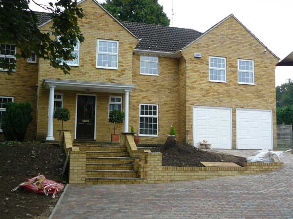 Driveway, Steps and Groundworks, Sevenoaks, Kent - Lesters Builders