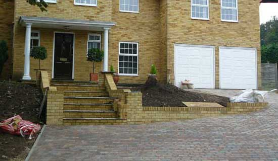 Driveway and Groundworks, Sevenoaks by Lesters Builders