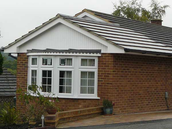 Front Elevation Extension : Extension to front of bungalow tunbridge wells kent