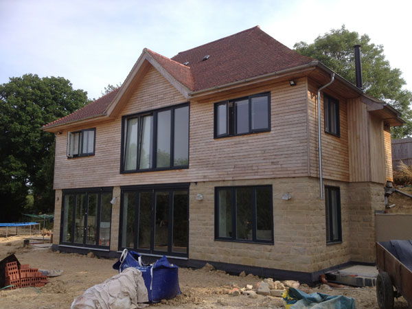 New Rural Detached House, Edenbridge, Kent - Lesters Builders