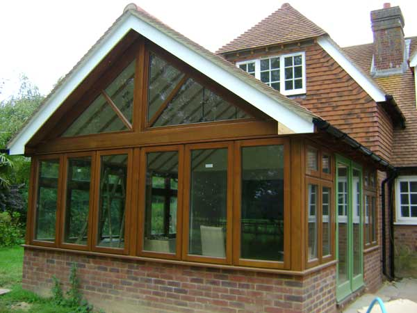 Orangery Timber Windows, Cranbrook, Kent - Lesters Builders
