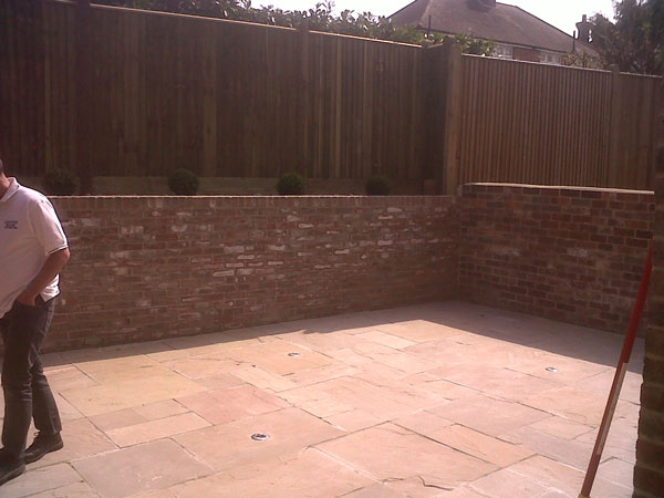 Patio Renovation, Tunbridge Wells, Kent - Lesters Builders
