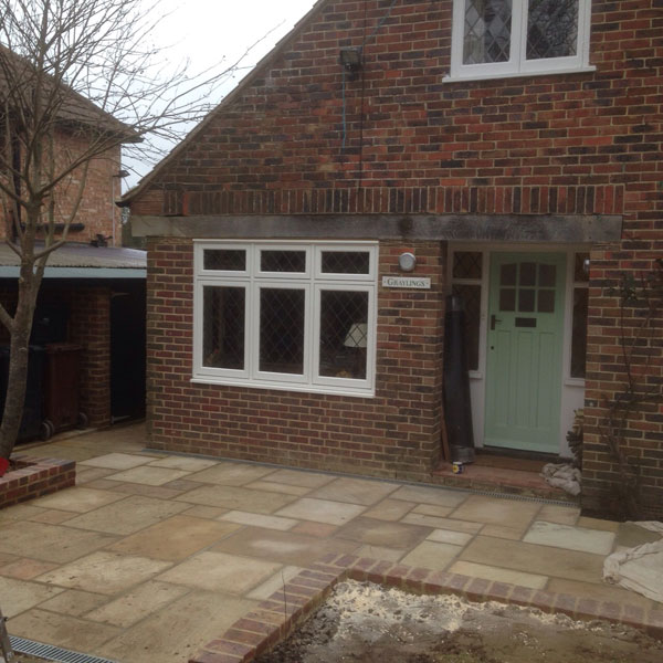 Front Elevation Extension : Rear extension upper hartfield east sussex lesters