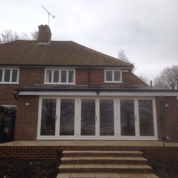 Rear Extension, Upper Hartfield, East Sussex - Lesters Builders