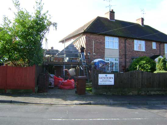 Small Side Extension, Hawkenbury, Tunbridge Wells - Lesters Builders