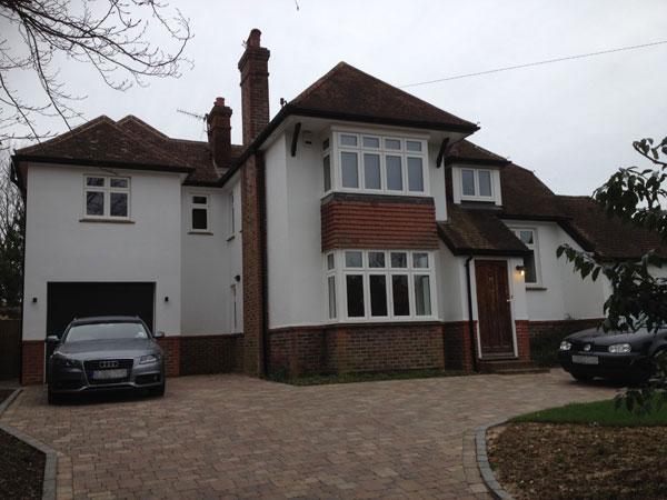 Two Storey Side Extension, Tonbridge, Kent - Lesters Builders